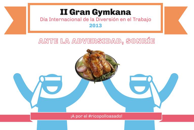 Gymkana para empresas. Día de la Diversión en el Trabajo