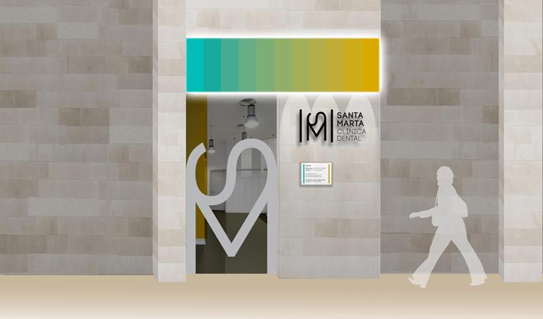 Rotulación, señalización y decoración de una clínica dental.Agudiza ...
