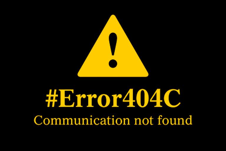 Comunicación profesional. No caigas en el error404C