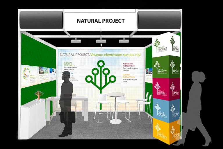 Stand Corporativo de Natural Project en la Feria Green Expo