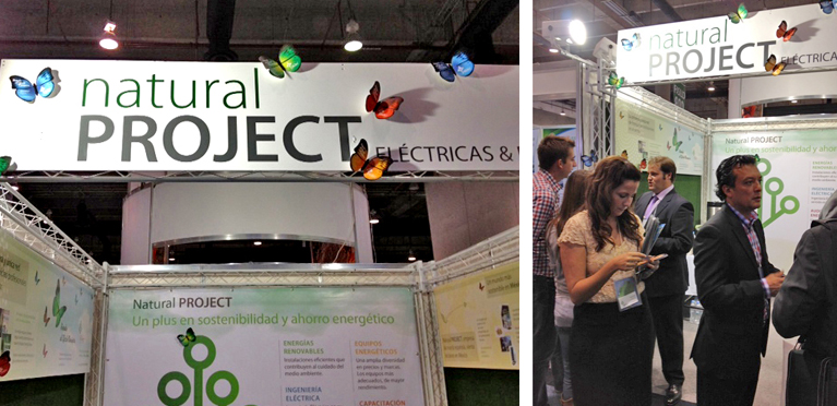 Stand corporativo Natural Project en Green Expo