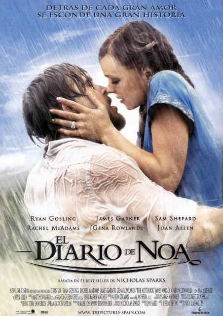 Pelis románticas. El diario de Noa