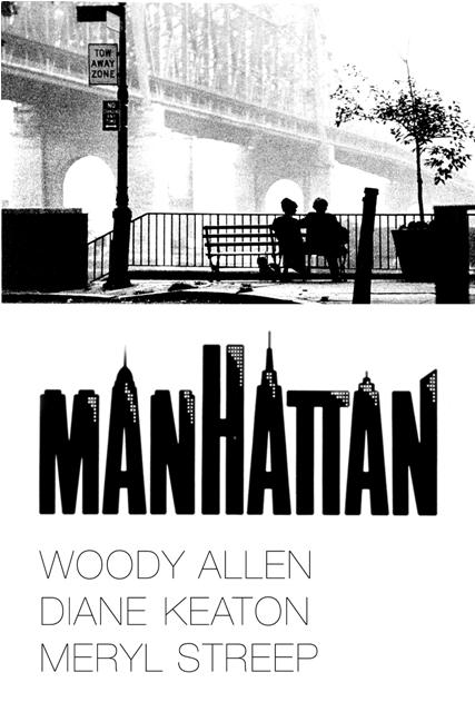 Pelis románticas. Manhattan