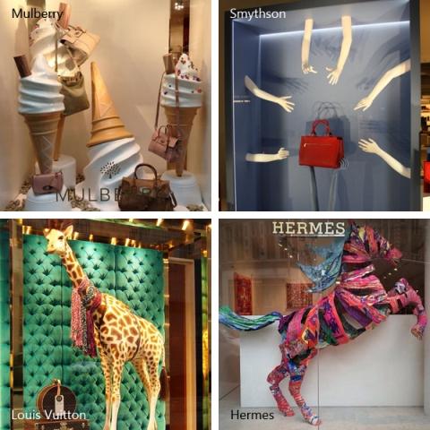 Tiendas de moda y escaparates m s originales del mundoagudiza el ingenio - Aparadores originales ...