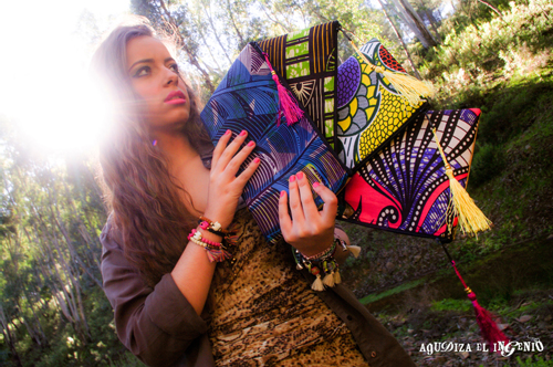 Bolsos afrochic de Agudiza el Ingenio