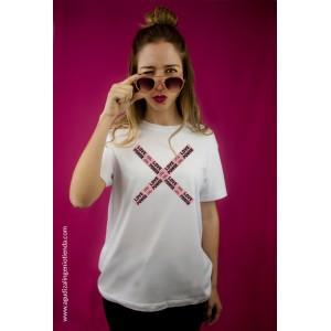 "Camiseta ""Sé original"" love power mediana"