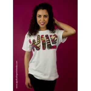 "Camiseta ""Afrochic"" wild mediana"