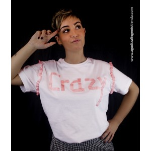 "Camiseta ""Sé original"" crazy mediana"