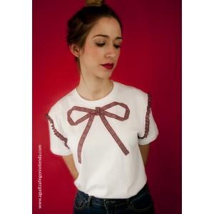"Camiseta ""Sé original"" lazo mediana"