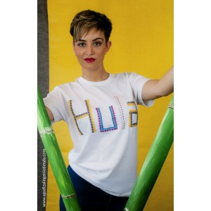 "Camiseta ""Aloha"" hula grande"