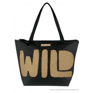 "Bolso Shopper ""Afrochic"" polipiel wild"