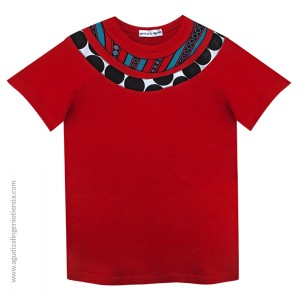 "Camiseta ""Afrochic"" collares talla G"