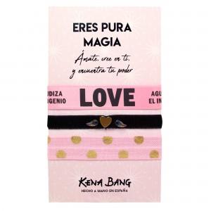 Pack KB PULSERAS rosa