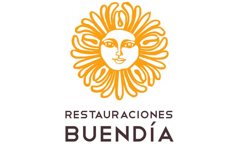 Nuevo logotipo de Restauraciones Buendía