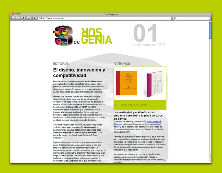 Newsletter S de Surgenia