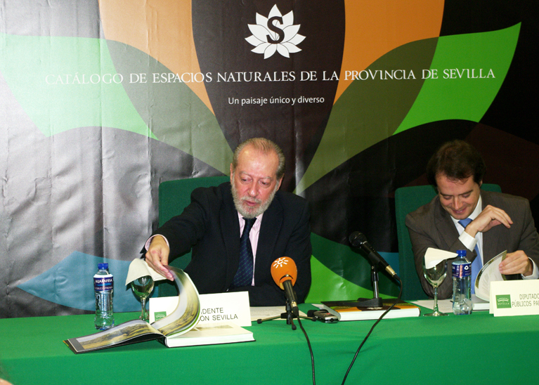 Presentación del Catálogo de Espacios Naturales de la Provincia de Sevilla