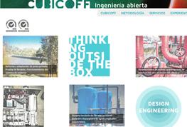 Diseño web Cubicoff
