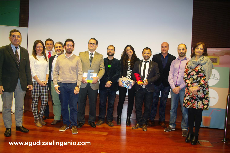 Empresas ganadoras de los II Premios Provinciales Andalucía Emprende